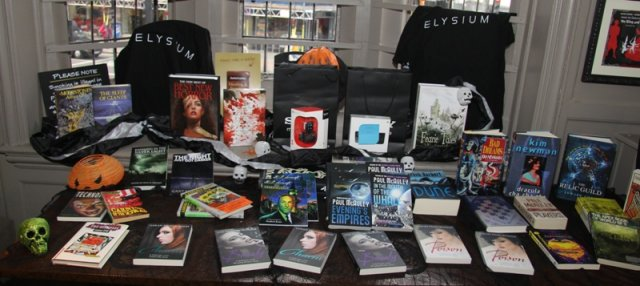 British Fantasy Society Open Day Raffle Prizes
